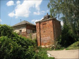 Сохранившаяся башня Казанского женского монастыря