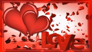 футажи день влюбленных