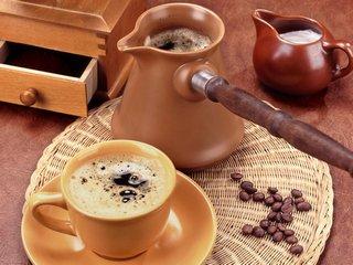 Как растет еда Кофе