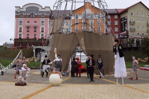 Антикварный цирк в Рязани
