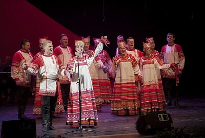 из выступление рязанского хора
