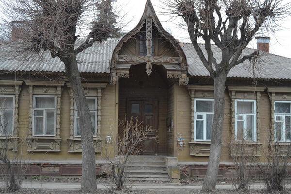 Деревянная Рязань Дом купца Милова