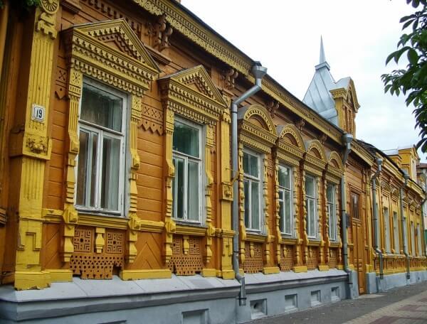 Деревянная Рязань Дом купца Селиванова