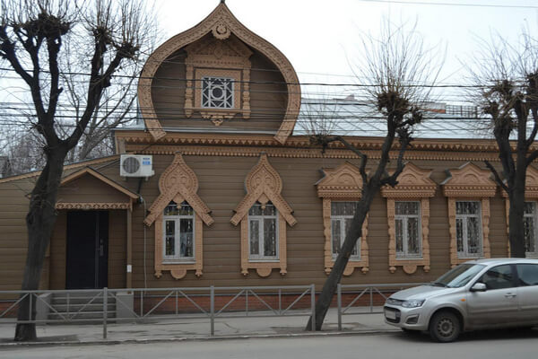 Деревянная Рязань Дом Лаврова