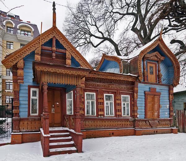 Деревянная Рязань Дом Попова