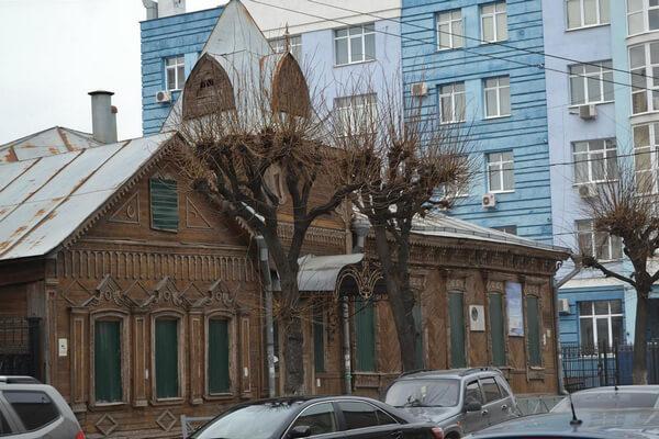 Деревянная Рязань Дом Загоскина