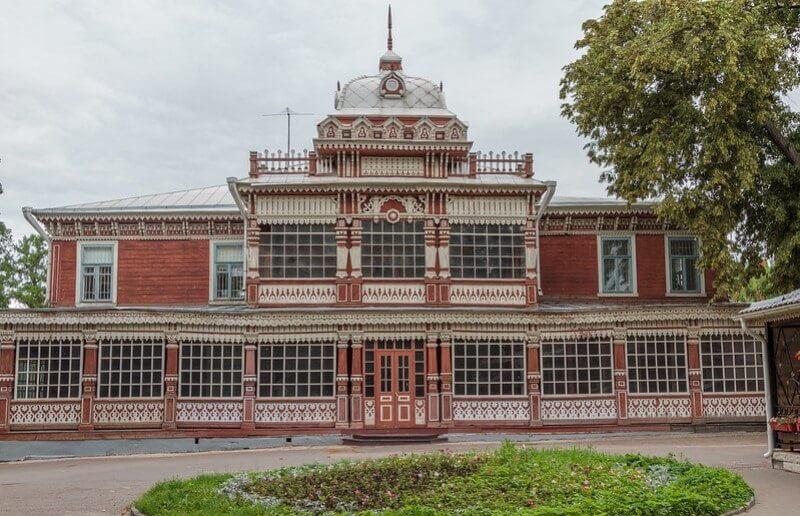 Деревянная Рязань Летний дом дворянского собрания