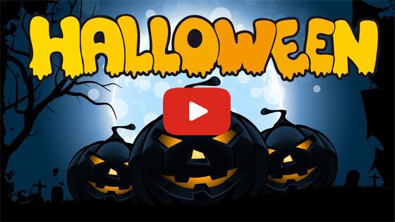 Хэллоуин макияж видео