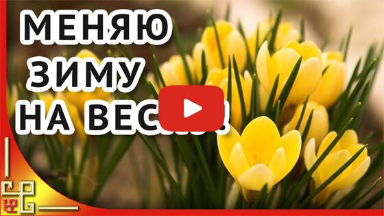 Меняю зиму на весну видео