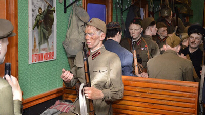 Поезд Победы в Рязани на фронт