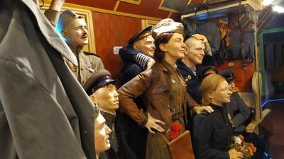 Поезд Победы в Рязани Победа