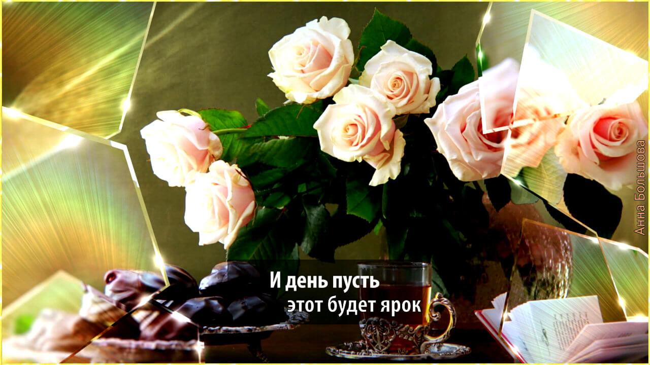 Я вам сегодня розы подарю!